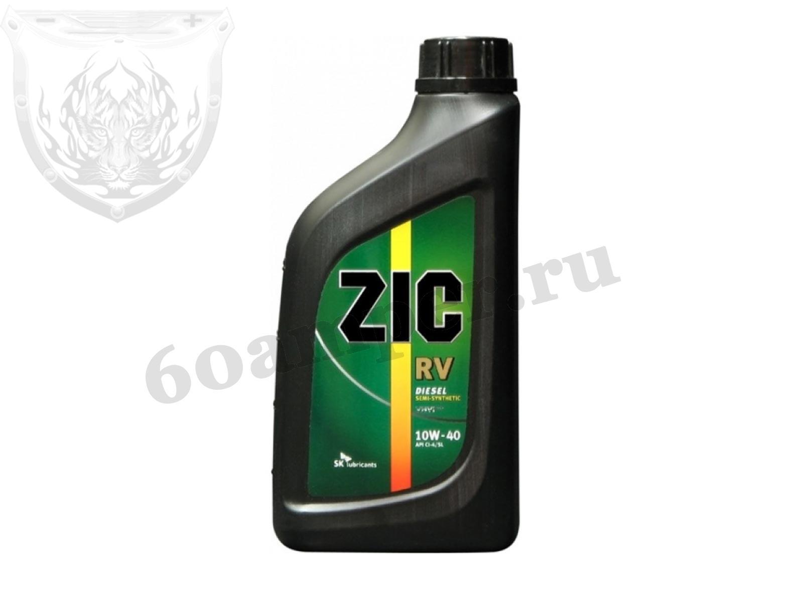 ZIC RV 10W40 CG-4 п/синт. 1л