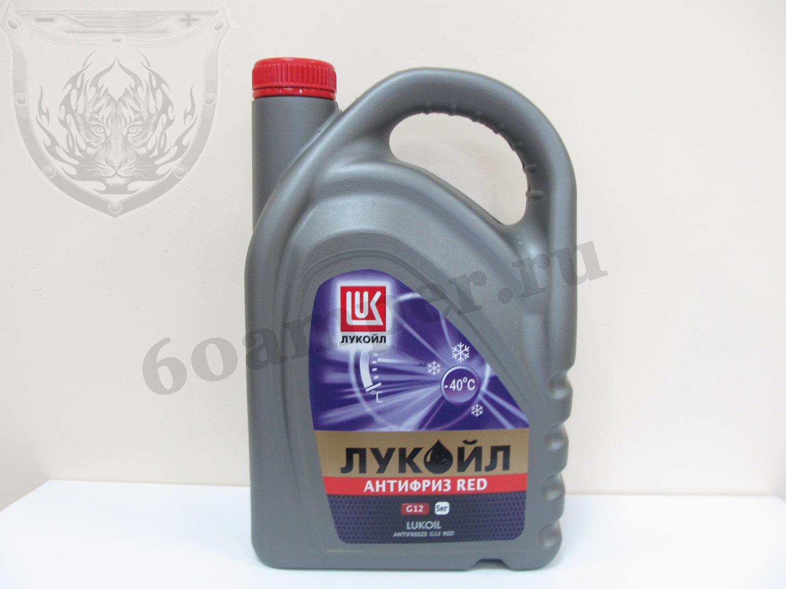 LUKOIL G12 Red 5кг