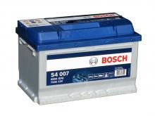 BOSCH S4 007 Silver 6СТ-72 (409 068) /О.П./
