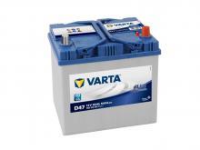 VARTA 60 А/ч Обратный Азия BLUE D47 (560 410 054)