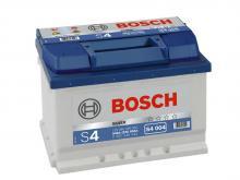 BOSCH 60 А/ч Обратный Низкий S4 004 SILVER (560 409 054)