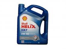 SHELL Helix HX7 5W40 SN/CF полу-синтетика 4л. (550040341)